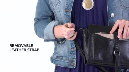 The Sak Sonora Phone Charging Crossbody - image 4 from the video
