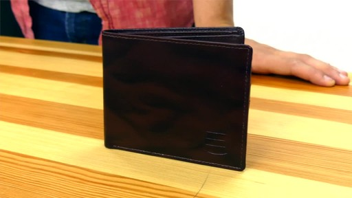 Suvelle Bifold Mens Genuine Leather Slim RFID Wallet - image 1 from the video