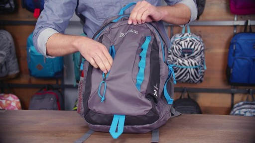 JanSport Agave Laptop Backpack - eBags.com - image 10 from the video
