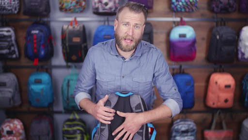 JanSport Agave Laptop Backpack - eBags.com - image 2 from the video