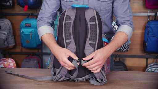 JanSport Agave Laptop Backpack - eBags.com - image 3 from the video