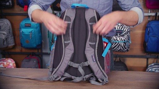 JanSport Agave Laptop Backpack - eBags.com - image 4 from the video