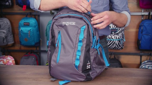 JanSport Agave Laptop Backpack - eBags.com - image 5 from the video