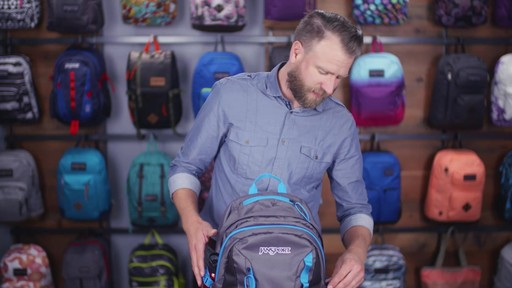 JanSport Agave Laptop Backpack - eBags.com - image 6 from the video