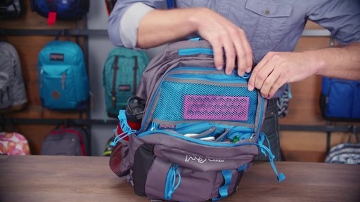 JanSport Agave Laptop Backpack - eBags.com - image 8 from the video