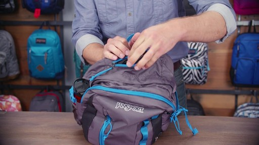 JanSport Agave Laptop Backpack - eBags.com - image 9 from the video