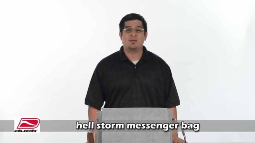 Ducti Hell Storm Messenger Bag - image 1 from the video