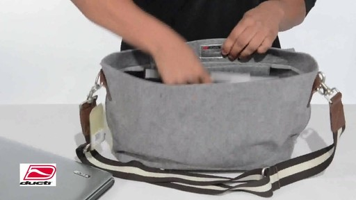 Ducti Hell Storm Messenger Bag - image 5 from the video