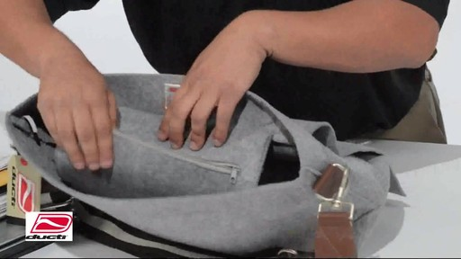 Ducti Hell Storm Messenger Bag - image 6 from the video