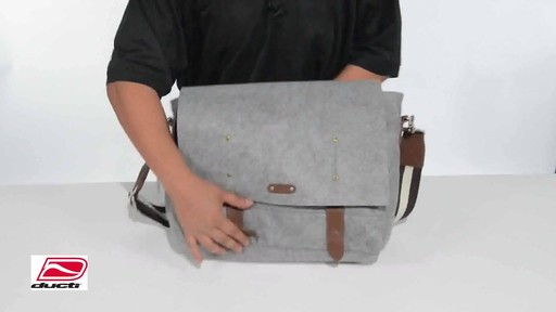 Ducti Hell Storm Messenger Bag - image 9 from the video