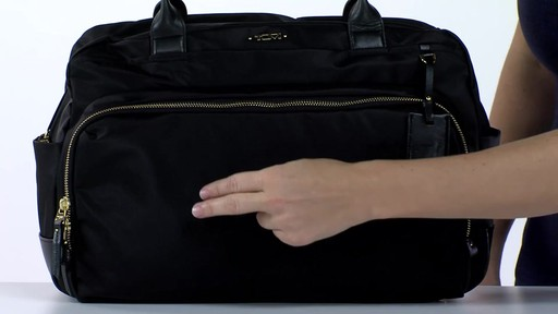 Tumi Voyageur Athens Carry-All - Shop eBags.com - image 3 from the video