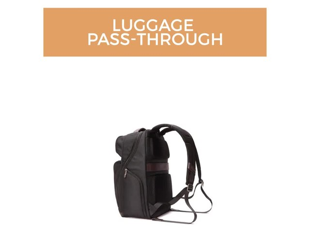 Samsonite Kombi Large Laptop Backpack - image 10 from the video