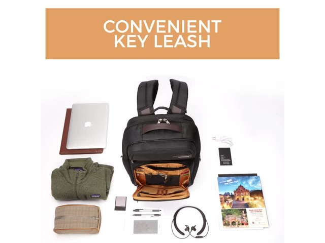 Samsonite Kombi Large Laptop Backpack - image 4 from the video