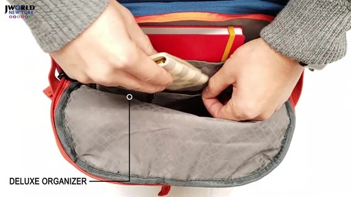 J World New York Lunar Laptop Rolling Backpack - image 4 from the video