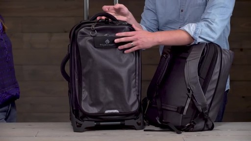 Eagle Creek Morphus International Carry-On - image 6 from the video