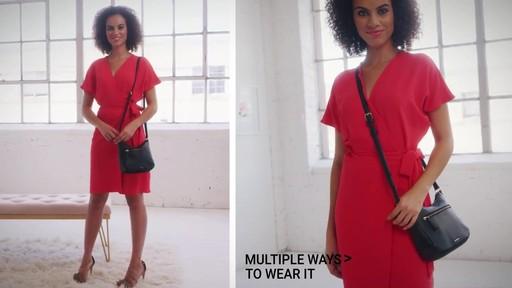 Vera Bradley Mini Vivian Crossbody - image 8 from the video