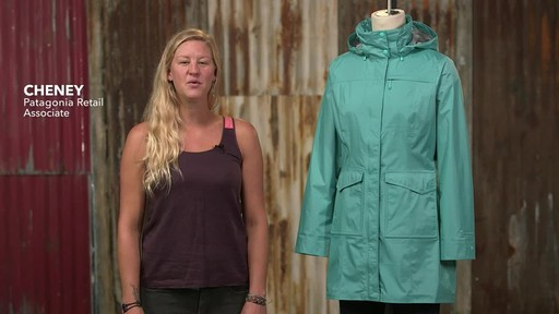 Patagonia Womens Torrentshell City Coat - image 1 from the video
