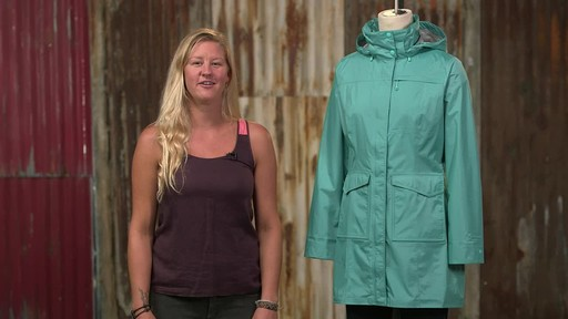 Patagonia Womens Torrentshell City Coat - image 10 from the video