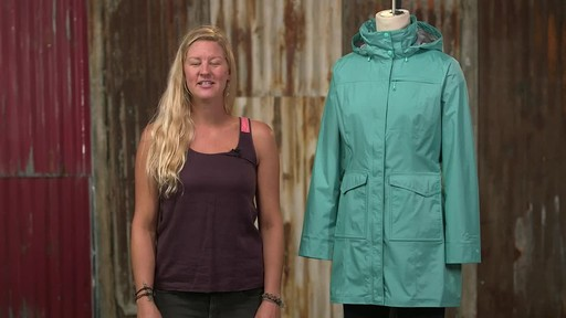 Patagonia Womens Torrentshell City Coat - image 3 from the video