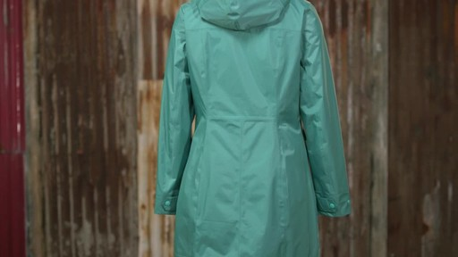 Patagonia Womens Torrentshell City Coat - image 4 from the video