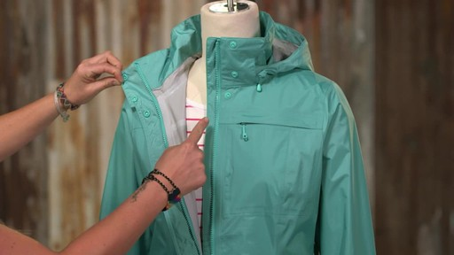 Patagonia Womens Torrentshell City Coat - image 6 from the video