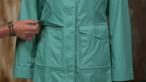Patagonia Womens Torrentshell City Coat - image 7 from the video