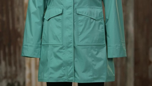 Patagonia Womens Torrentshell City Coat - image 9 from the video