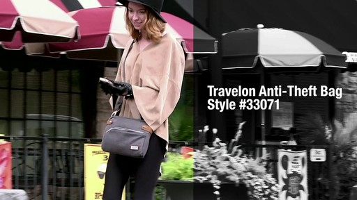 d6d6cfc6ea0 Travelon Anti-Theft Heritage Small Crossbody Bag - image 1 from the video