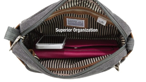 Travelon Anti-Theft Heritage Small Crossbody Bag - image 7 from the video