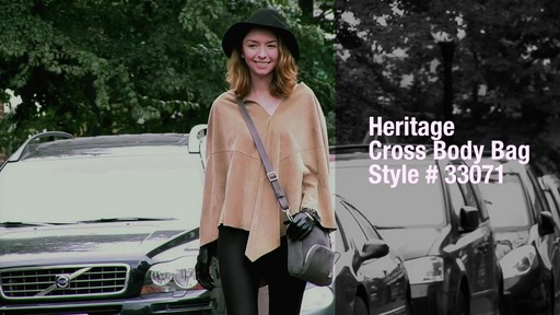 Travelon Anti-Theft Heritage Small Crossbody Bag - image 9 from the video