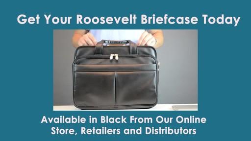 McKlein USA Roosevelt Leather Detachable Wheeled 17