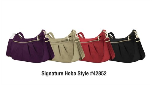Travelon Anti-Theft Signature Hobo - eBags.com - image 10 from the video