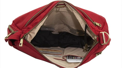 Travelon Anti-Theft Signature Hobo - eBags.com - image 7 from the video