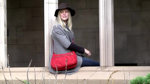 Travelon Anti-Theft Signature Hobo - eBags.com - image 9 from the video