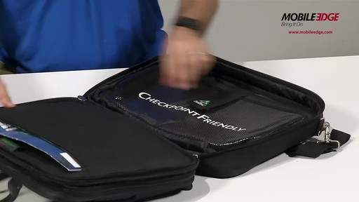 Mobile Edge ScanFast Checkpoint & ECO Friendly Series - image 4 from the video