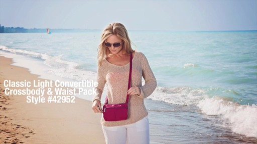 Travelon Anti-Theft Classic Light Convertible Crossbody and Waistpack - Shop eBags.com - image 1 from the video
