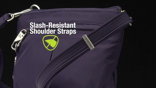 Travelon Anti-Theft Classic Light Convertible Crossbody and Waistpack - Shop eBags.com - image 7 from the video