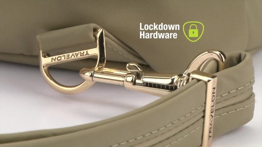 Travelon Anti-Theft Tailored Backpack - image 4 from the video