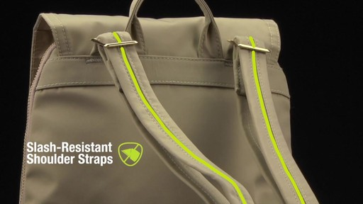 Travelon Anti-Theft Tailored Backpack - image 7 from the video
