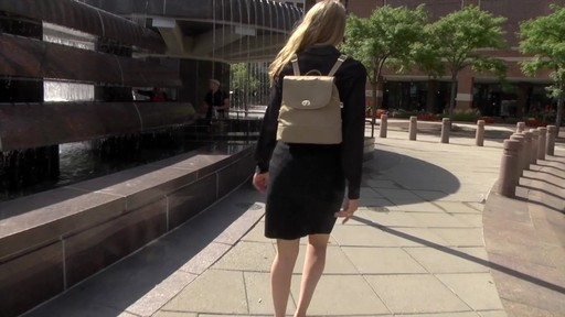 Travelon Anti-Theft Tailored Backpack - image 9 from the video