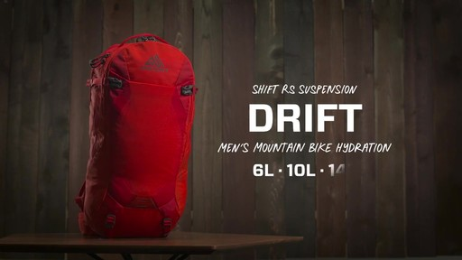 Gregory Drift 3D-Hyd Hiking Backpack - image 1 from the video