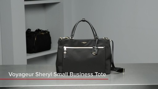 Tumi Voyageur Sheryl Small Business Tote - image 1 from the video