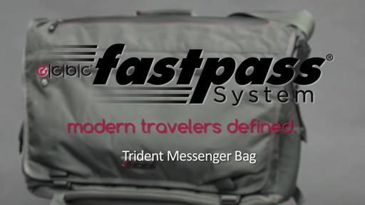 ecbc Trident Messenger - eBags.com - image 1 from the video