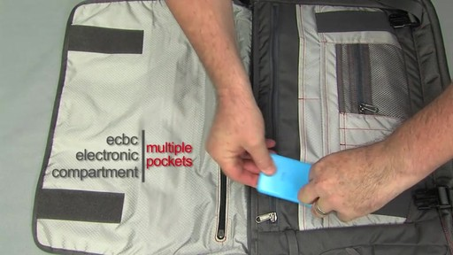 ecbc Trident Messenger - eBags.com - image 3 from the video