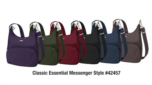 Travelon Anti-Theft Classic Essential Messenger Bag - eBags.com - image 10 from the video
