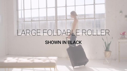 Vera Bradley Large Foldable Roller - image 1 from the video