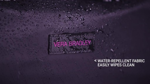 Vera Bradley Large Foldable Roller - image 3 from the video
