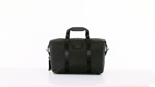 Tumi Alpha 2 Small Soft Travel Satchel - eBags.com - image 1 from the video