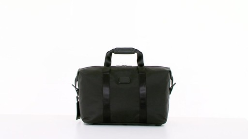 Tumi Alpha 2 Small Soft Travel Satchel - eBags.com - image 10 from the video