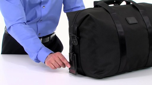 Tumi Alpha 2 Small Soft Travel Satchel - eBags.com - image 3 from the video